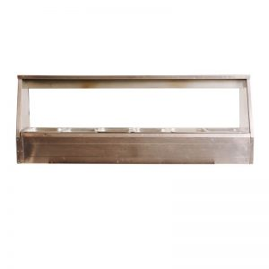 Bain Marie Glass Front