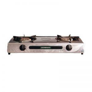 Double Gas Burner inc 4.5kg gas bottle