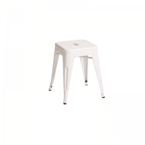 Tolix Stool White Low