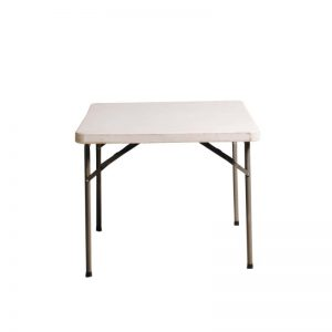 0.85m square table