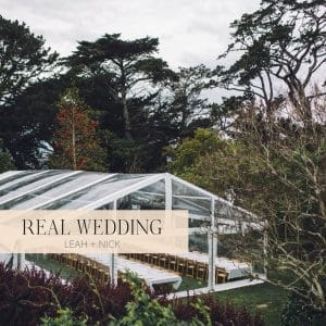 Leah & Nick in Hello May | The Priory Narooma Wedding Hire