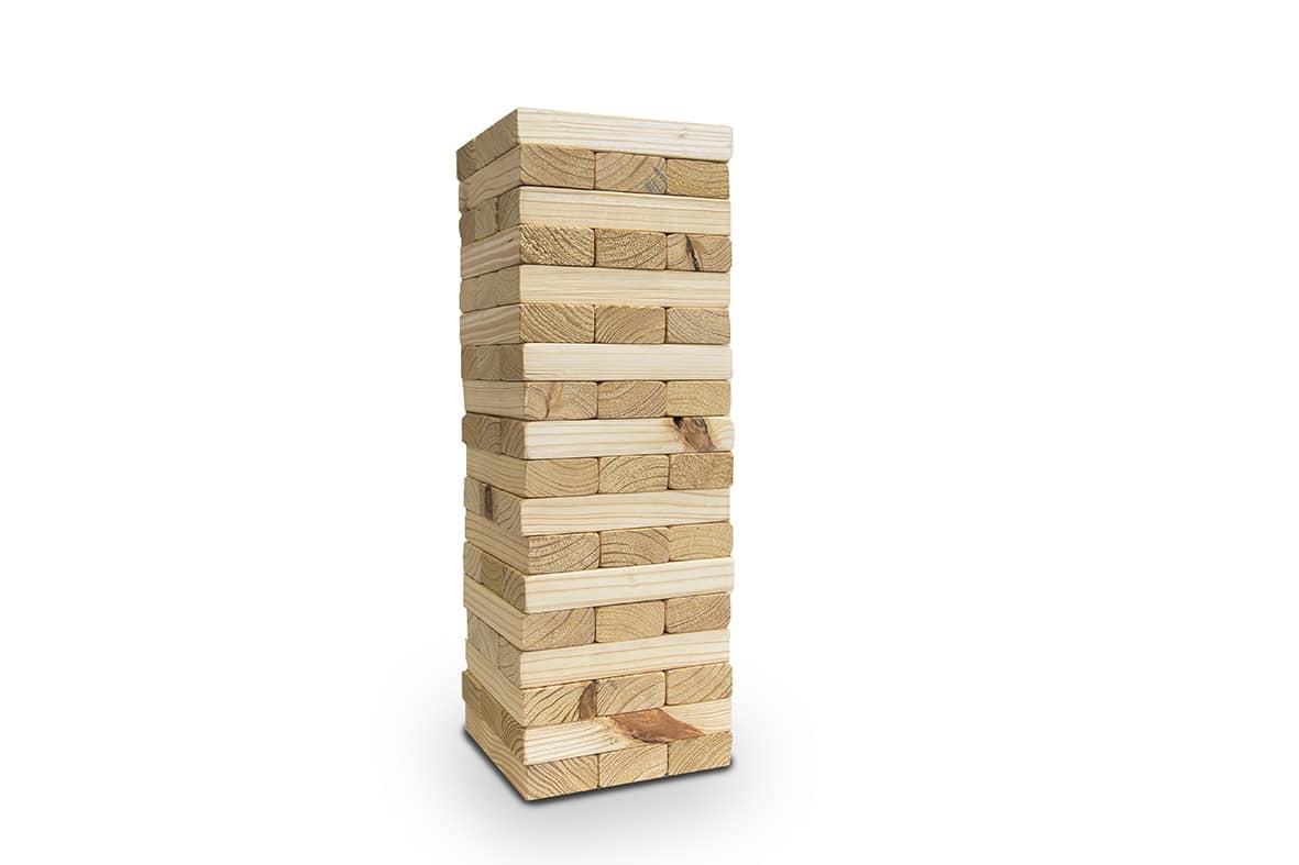 Giant Jenga | South Coast Wedding Hire