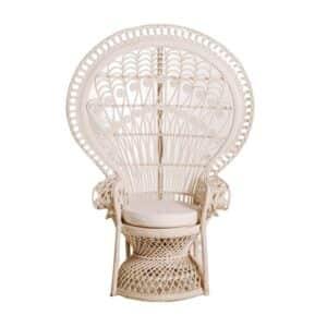 Peacock Chair White