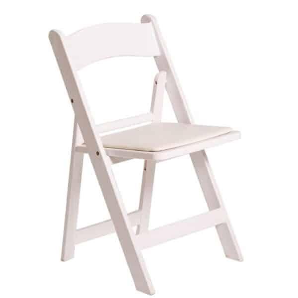 white-folding-chair-hire-south-coast