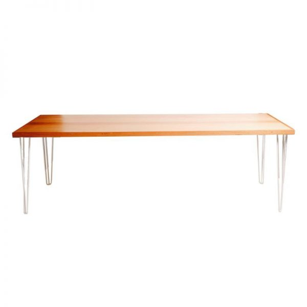 Hunter-timber-dining-table-hire-white-legs-south-coast-party-hire