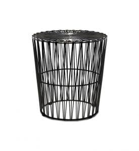 ZED-wire-side-table-black-south-coast-party-hire