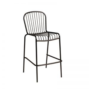Hunter Bar Stool Black