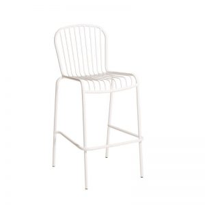 Hunter Bar Stool White
