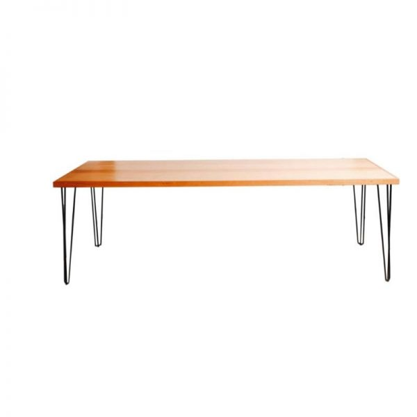 hunter-timber-dining-table-hire-black-legs-south-coast-party-hire
