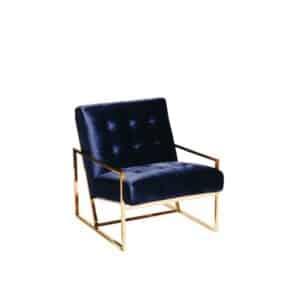 Bambury Lounge Single Seater NAVY