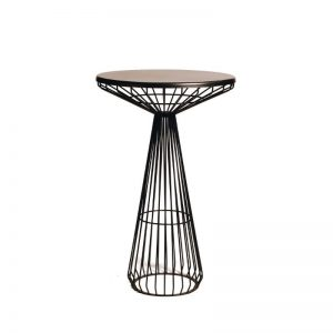 ZED Bar Table Black