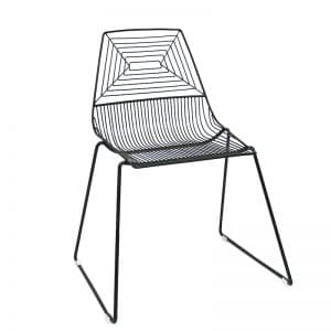 ZED Chair Black