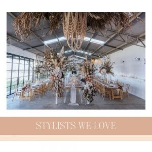 Stylists We Love: The essential look book from some of our favourite vendors