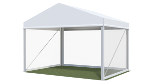 4m Wide Hocker Marquee