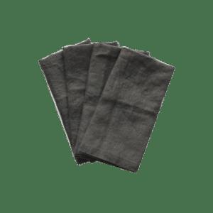 Linen Napkin Charcoal