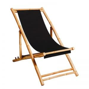 Deck Chair Black