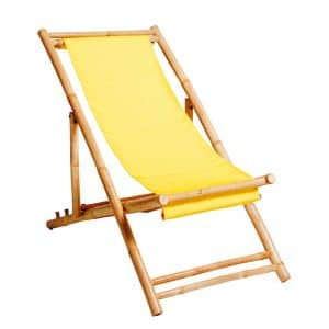 Deck Chair Yellow