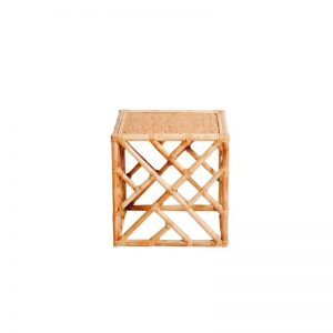 Hamptons Bamboo Side Table Natural