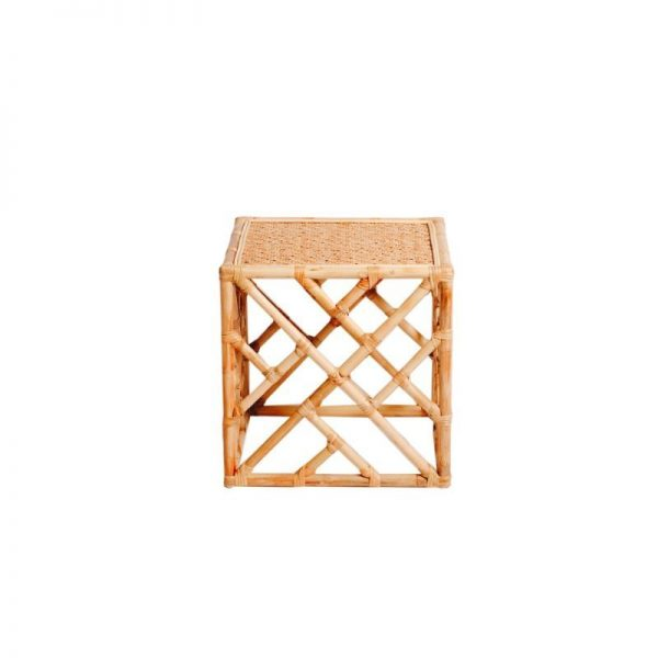 hamptons-rattan-side-table-natural-hire-south-coast