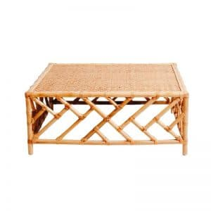 Hamptons Bamboo Coffee Table Natural