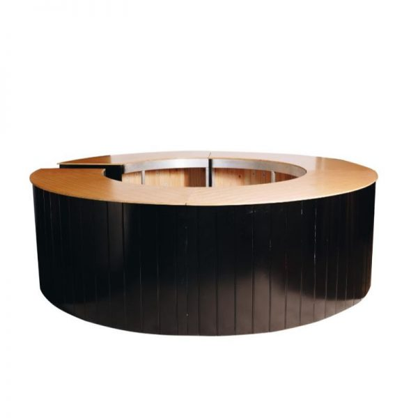round-bar-hire-south-coast-black