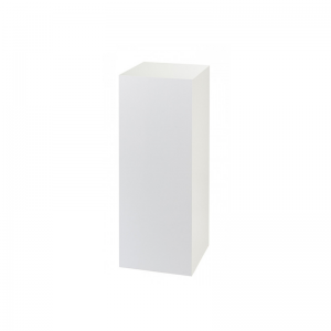 White Plinth 90cm