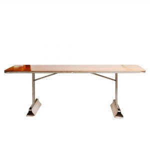 2.4m Trestle Table with Table Raisers