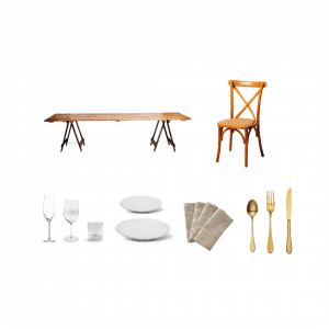 Rustic Charm Dining Package