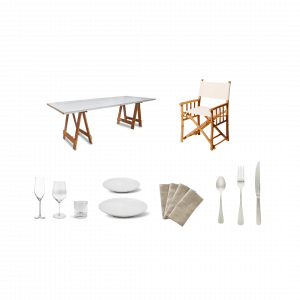 Coastal Luxe Dining Package
