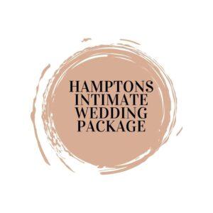 Hamptons Intimate Wedding Package