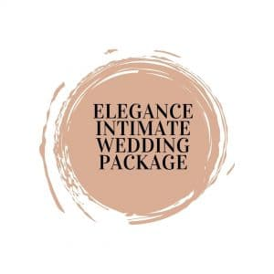 Elegance Intimate Wedding Package