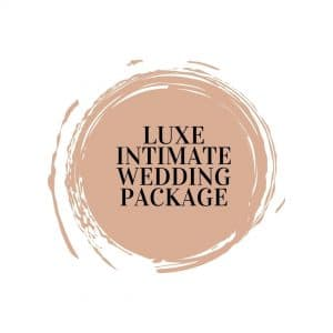 Luxe Intimate Wedding Package
