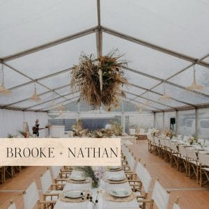 Brooke + Nathan | The Cove, Jervis Bay | Marquee Wedding South Coast