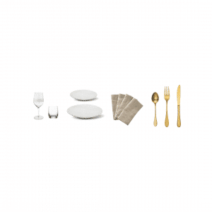 Rustic Charm Tableware Package