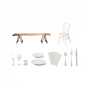 Rustic Elegance Dining Package