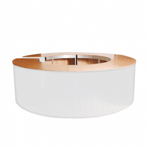Round Bar White